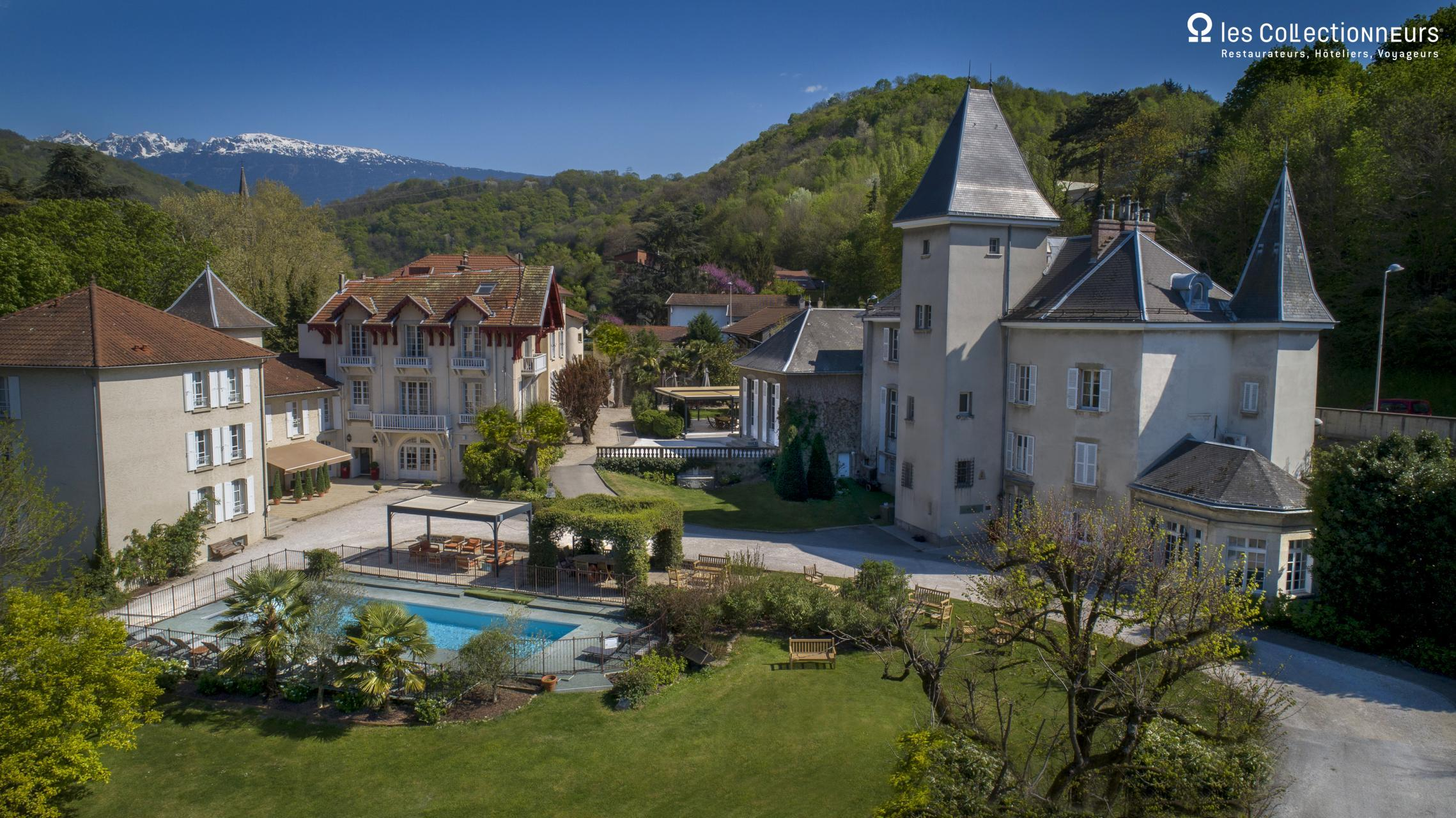 Chateau Et Spa De La Commanderie Charming Hotel In Rhone Alpes
