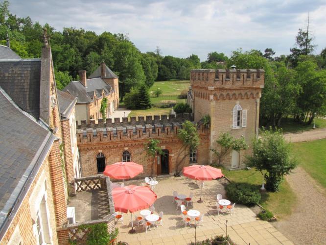 L'Hostellerie du Château les Muids-7