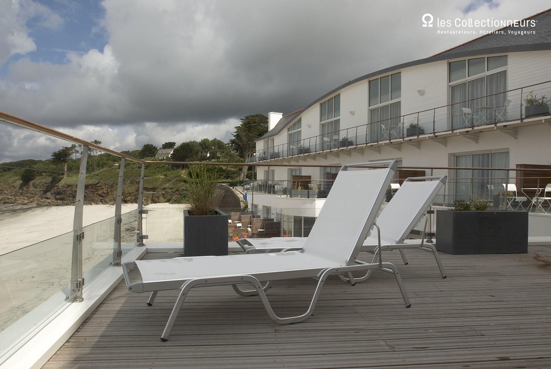 Les sables blancs hôtel de charme en bretagne : chateauxhotels.com