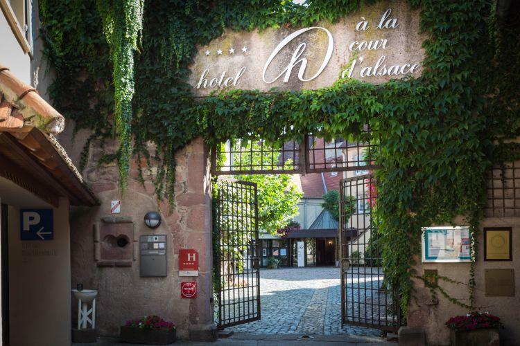 Hôtel À La Cour d'Alsace-13