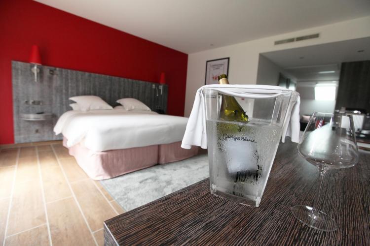 Les Maritonnes Parc & Vignoble - Restaurant Rouge & Blanc-2