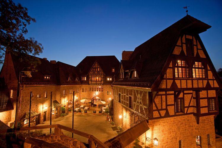 Romantik Hotel auf der Wartburg-1