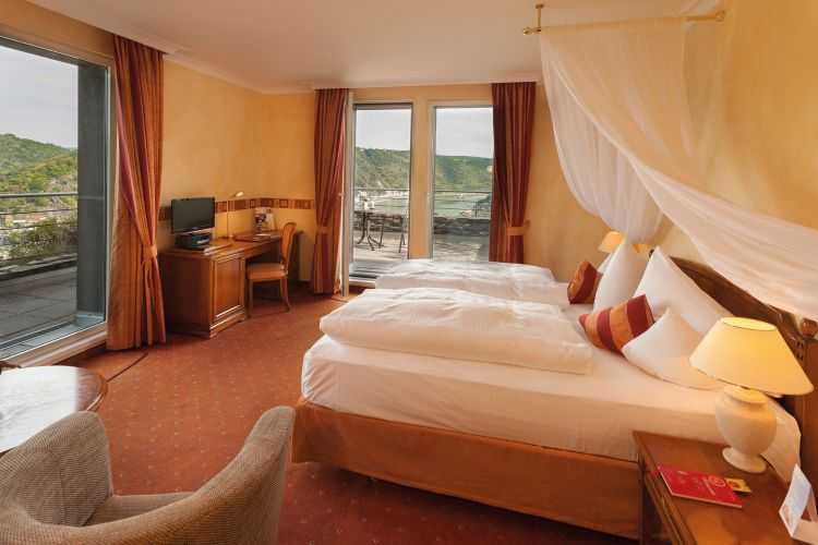 Romantik Hotel Schloss Rheinfels-5