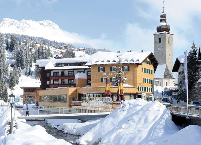 Romantik Hotel Die Krone von Lech-1