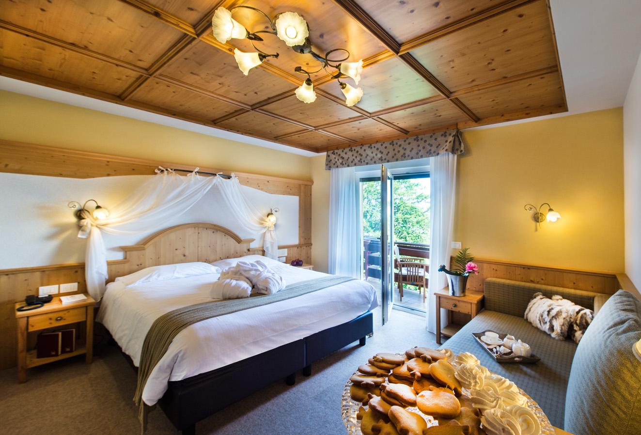 chambre double ambiance chalet