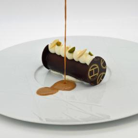 Dessert gourmand à base de chocolat