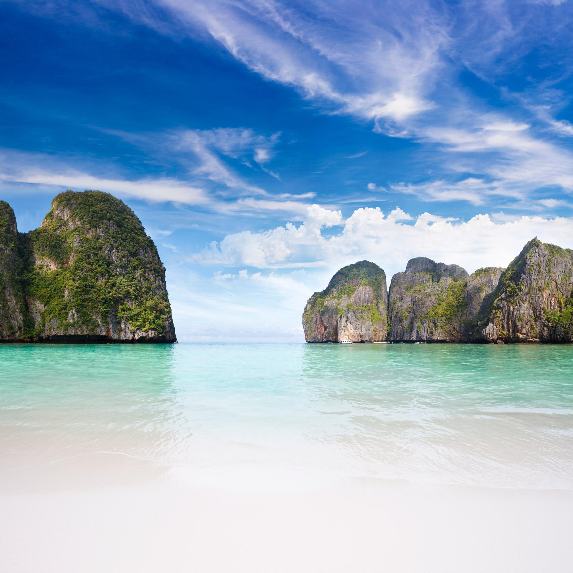Découvrez l'île Maya Bay, paradis terrestre de Thaïlande