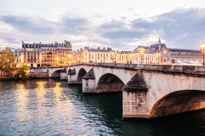 Photo d'Anthony Delanoix, Musée d'Orsay, Pont Royal