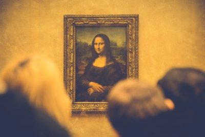 Tableau La Joconde de Léonard de Vinci au Musée du Louvre