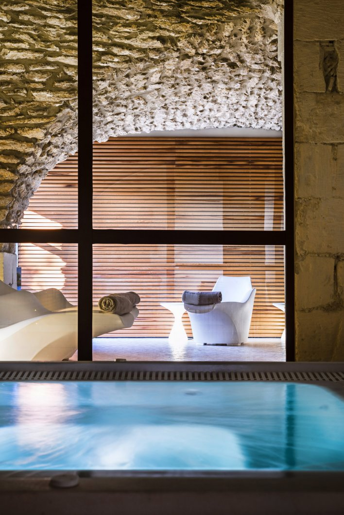 Spa, saune, hammam à disposition au Moulin de Vernègues & Spa près d'Aix-en-Provence