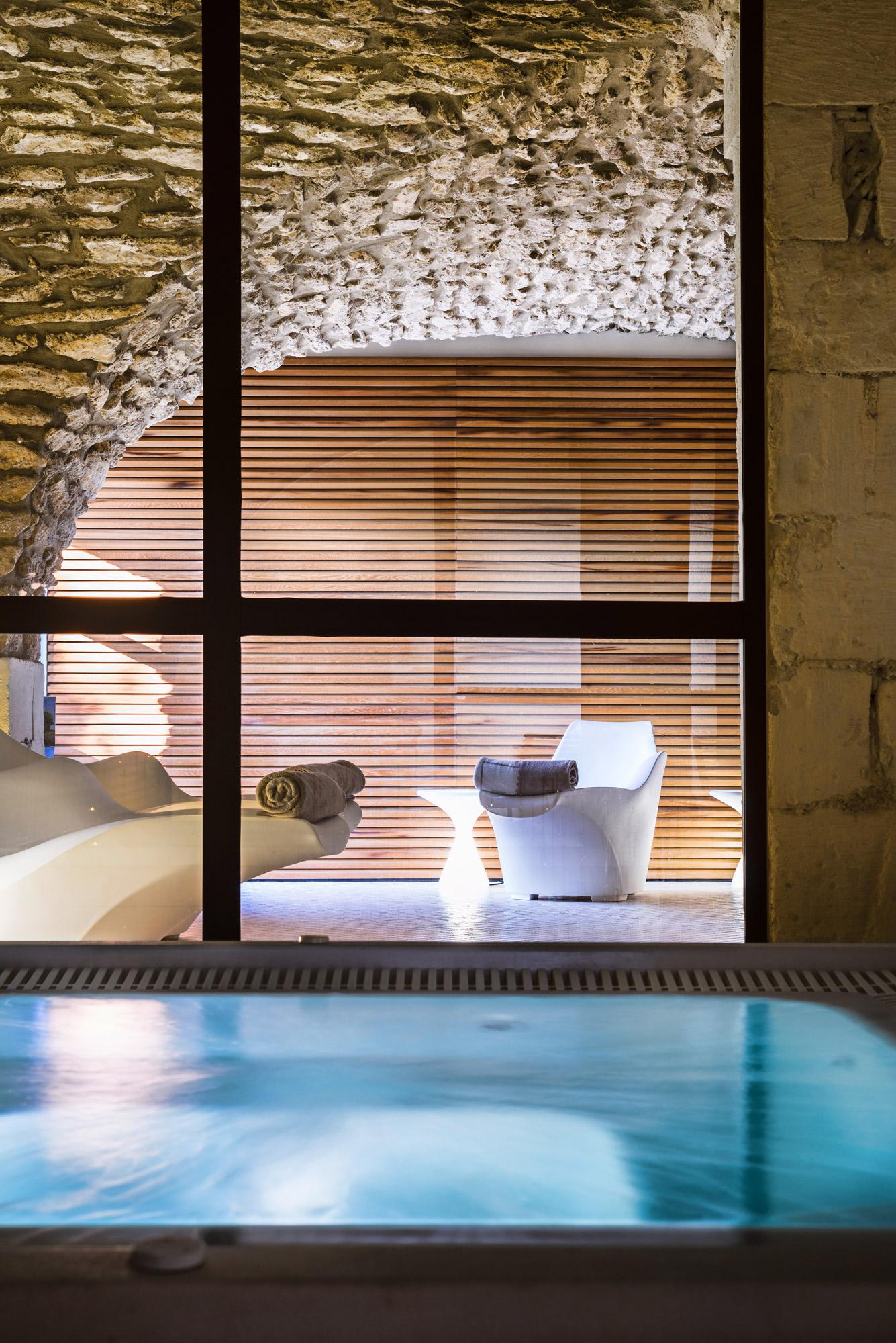 Spa, saune, hammam à disposition au Moulin de Vernègues & Spa près d'Aix-en-Provence