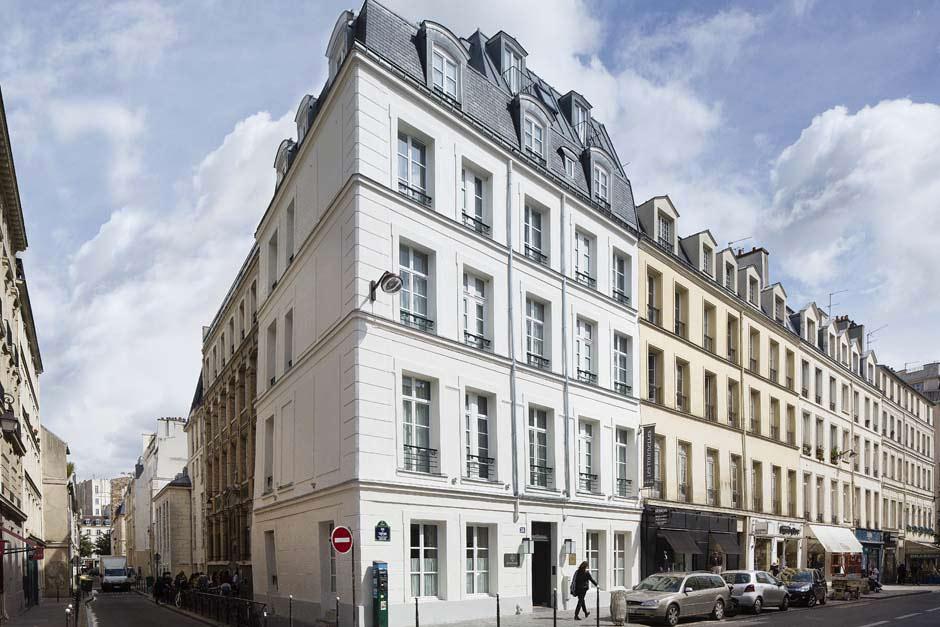 immeuble dans les rue de Paris