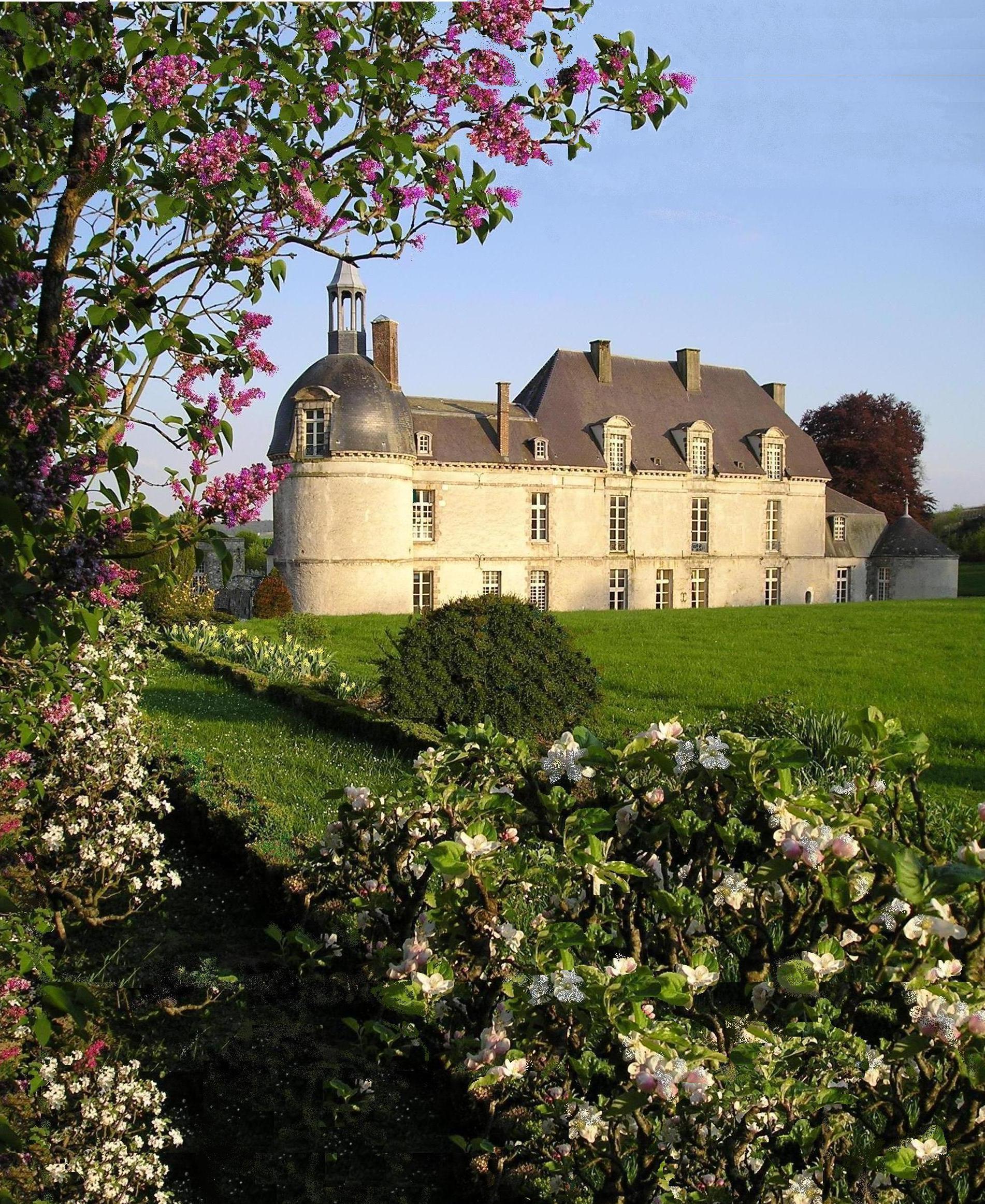 Château et parc arboré