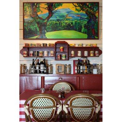 restaurant ambiance bistro de montagne