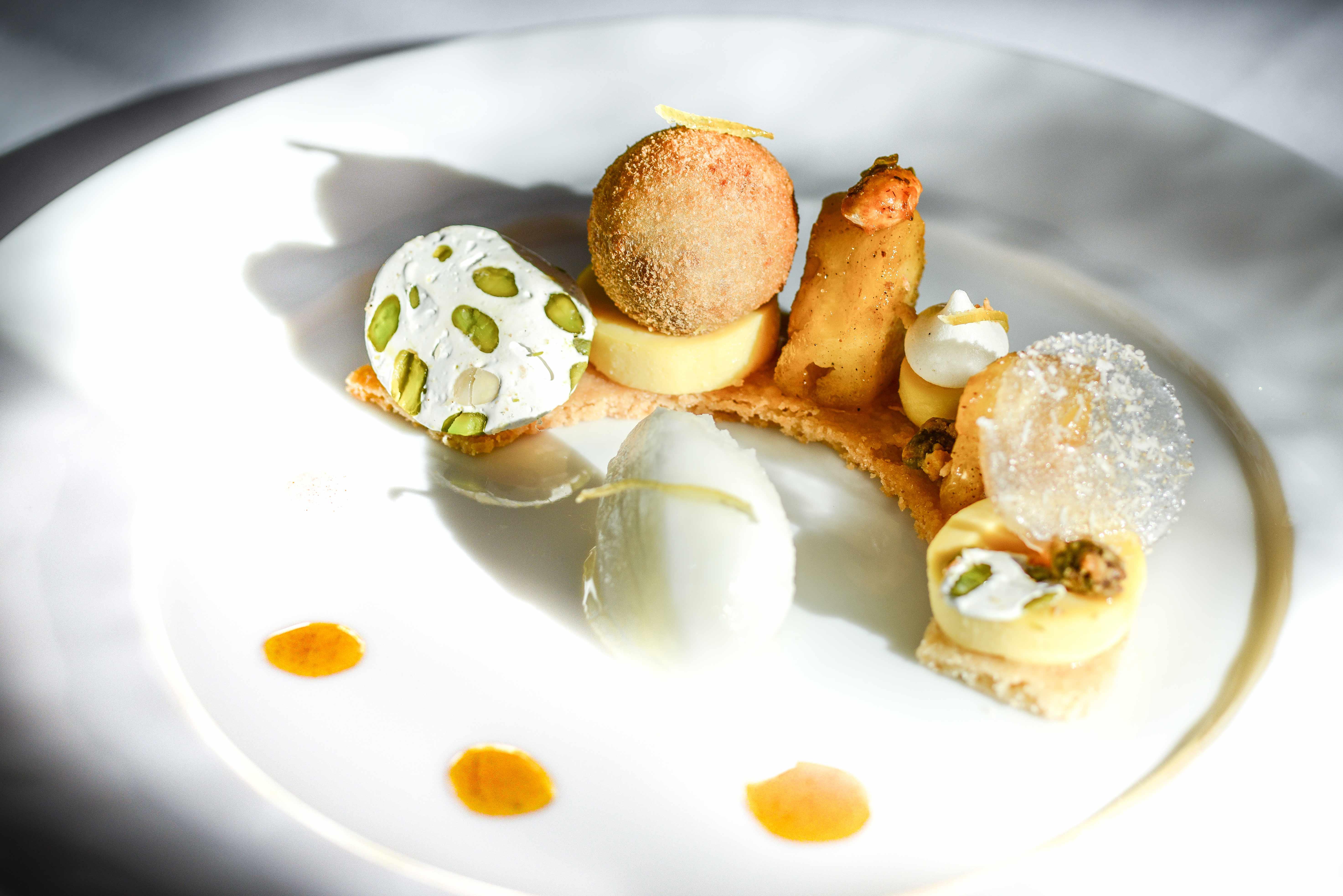 Dessert biscuit et crème citron