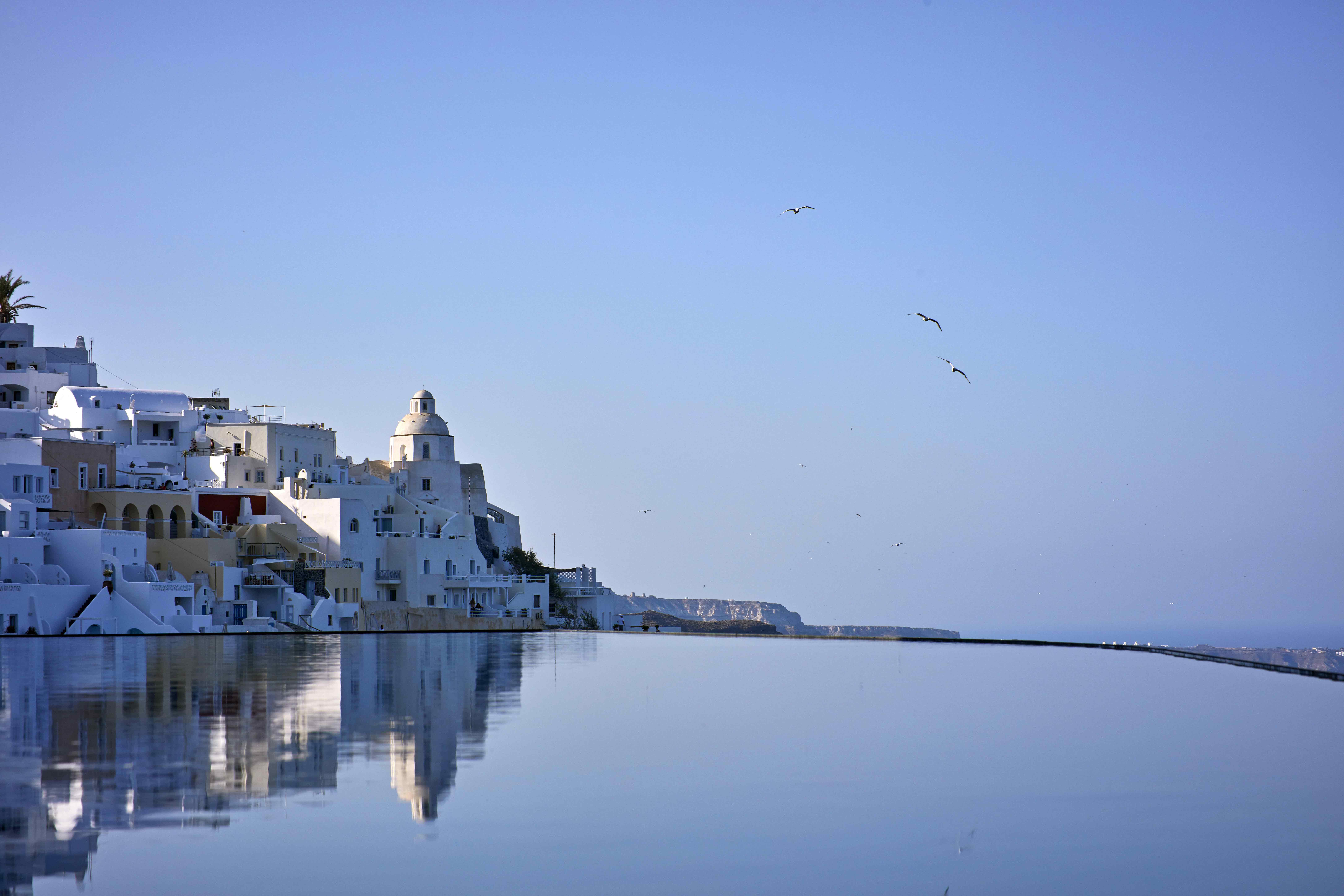Santorin, une île à part