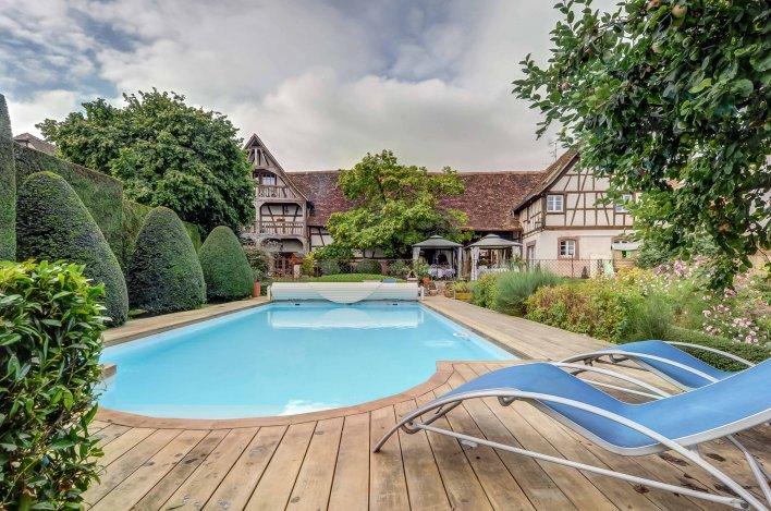 Maison à colombages en Alsace