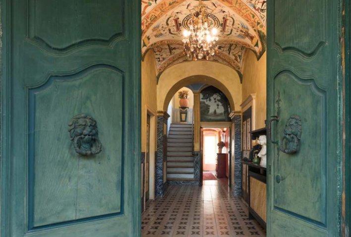 Entrée de la Casa Theodora