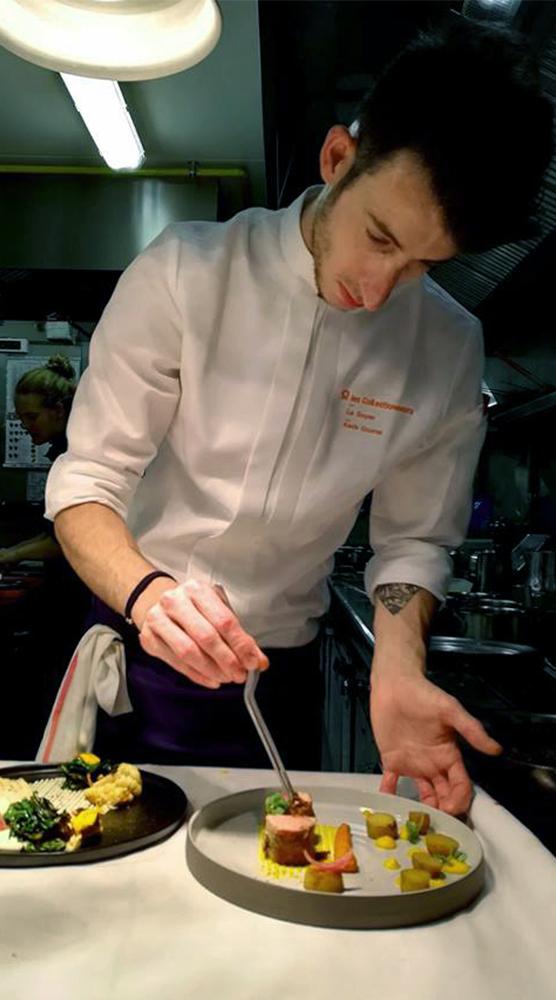 La recette de Kévin Gourret, chef du restaurant Le Goyen