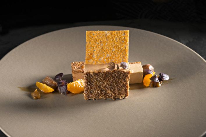 plat de foie gras