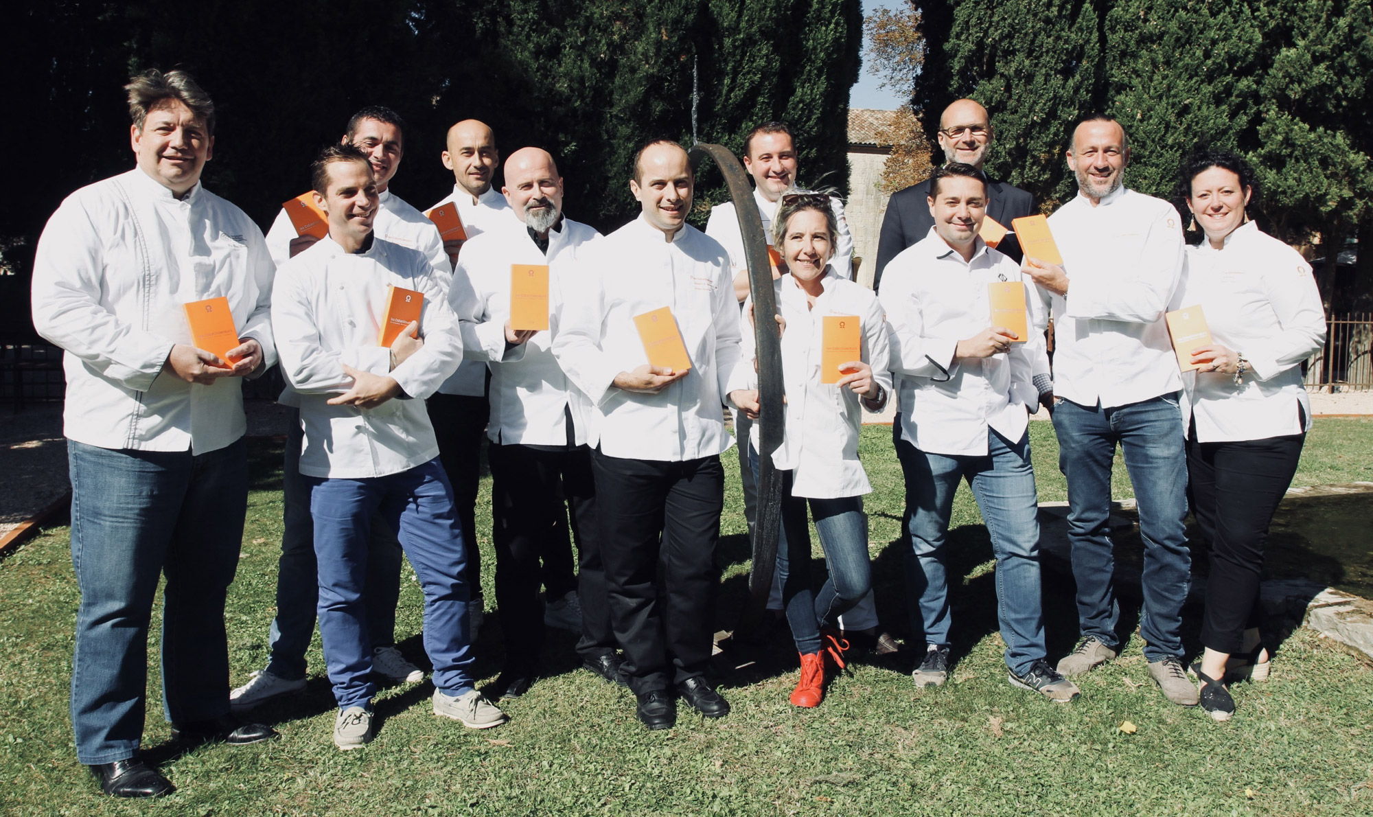 Les Chefs de la région Provence-Alpes-Côtes d'Azur présents à la 5ème édition des Dîners de Chefs au profit des Restaurants du Cœur © Marie Tabacchi
