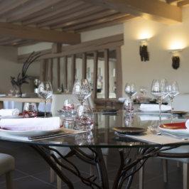 Photo d'une table du restaurant Le Bec au Cauchois