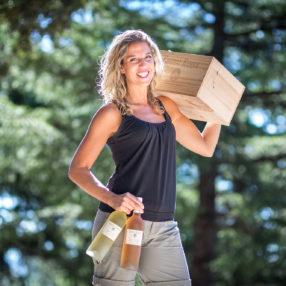 Sophie Biancone, autour de la vigne