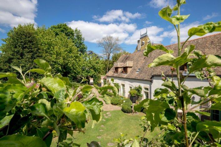Maison typique de bourgogne
