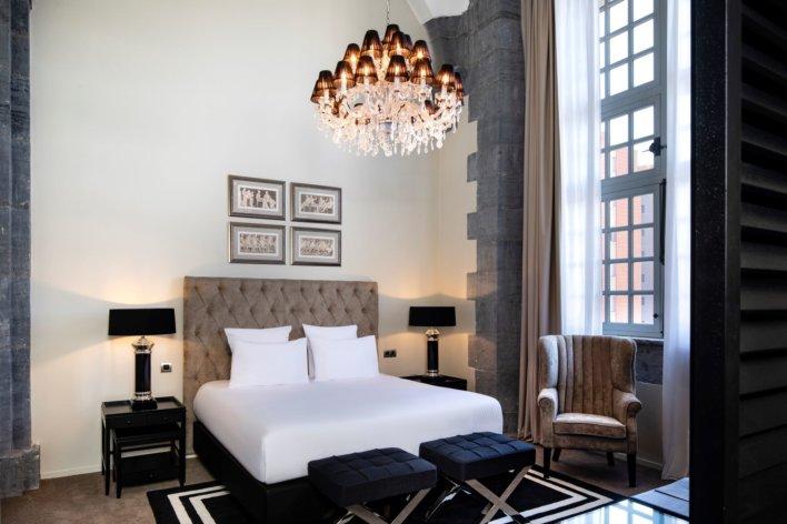 Suite présidentielle de l'hôtel Royal Hainaut Spa & Resort Hotel