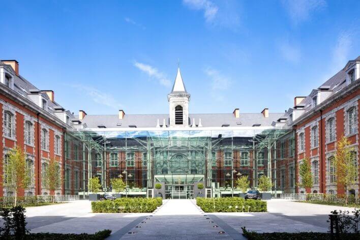 Façade du Royal Hainaut Spa & Resort Hotel
