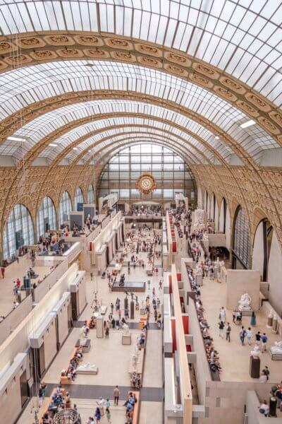 Vue intérieur du Musée d'Orsay
