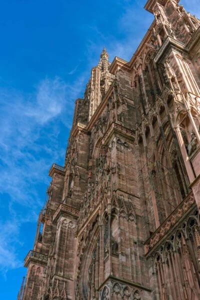 Façade de la cathédrale Notre-Dame de Strasbourg