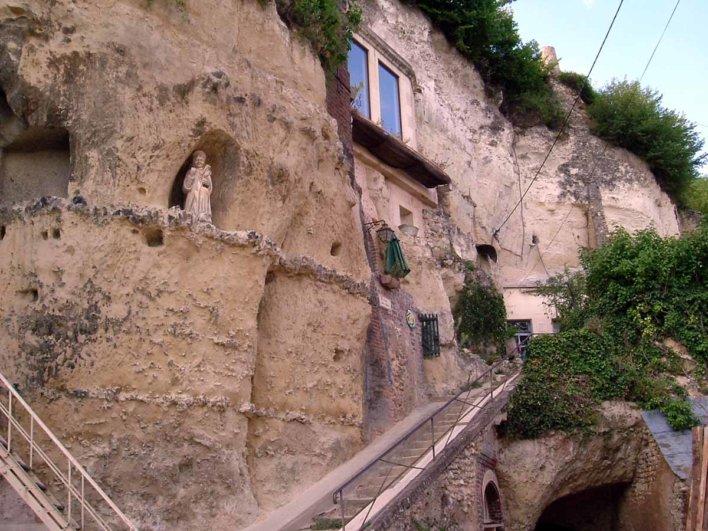 Escalier Saint Gabriel à Trôo