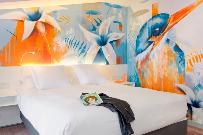 L'Yeuse - art dans les chambres ©David Nakache