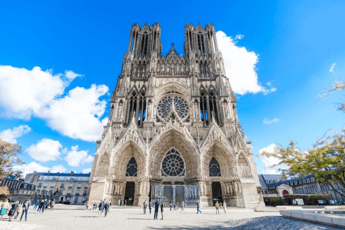 Cathédrale t ©Cyrille Beudot – Office de Tourisme du Grand Reims