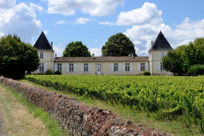 Façade du Château Climens © F.Nivelle