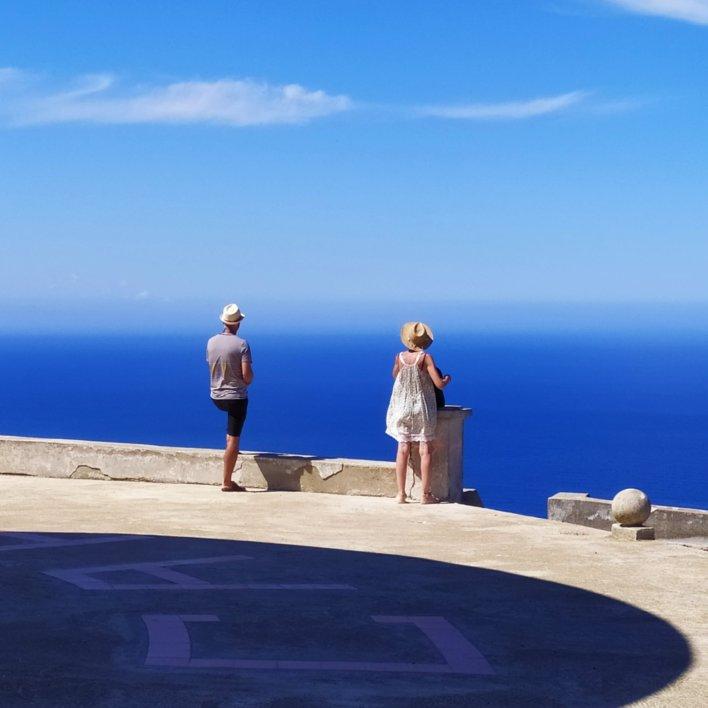 Vue du moulin Mattei ©Office de Tourisme Intercommunal du Cap Corse Capicorsu