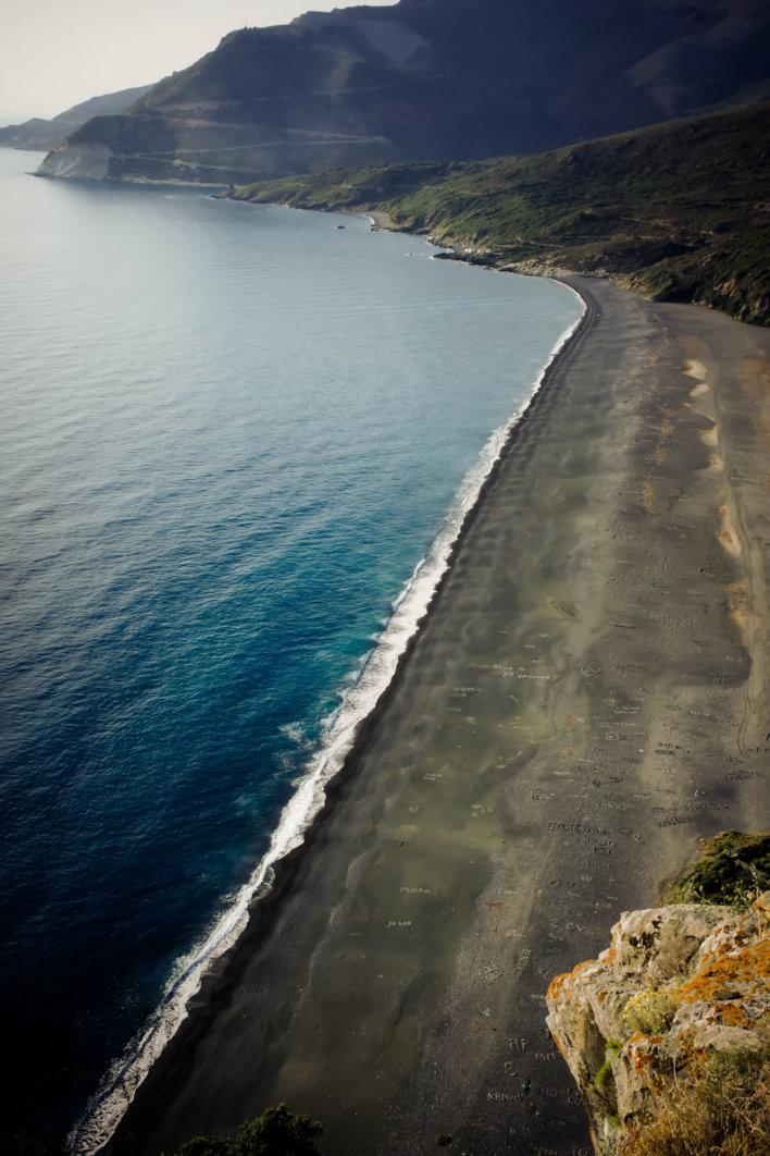 Plage Nonza ©Office de Tourisme Intercommunal du Cap Corse Capicorsu
