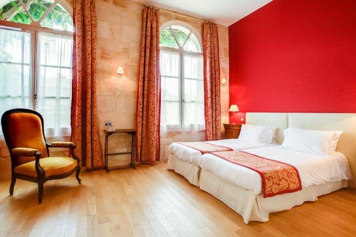 Chambre de l'Hôtel Le Grand Monarque © les Collectionneurs