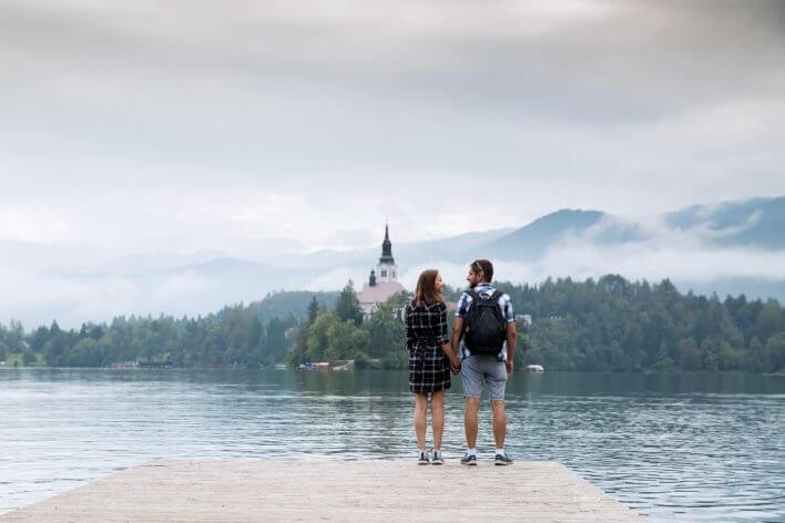 Couple de voyageurs © Natalia Deriabina
