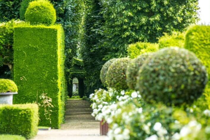 jardins château de la ballue