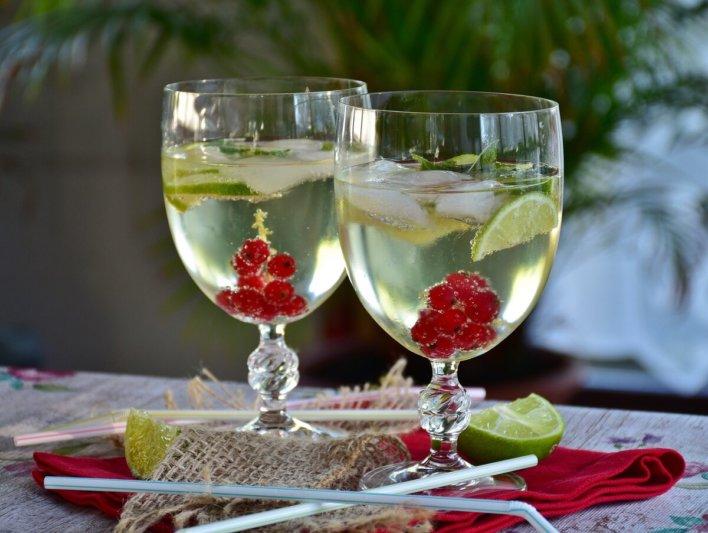 Cocktail à base de Prosecco