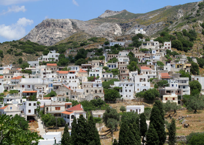 village à Naxos