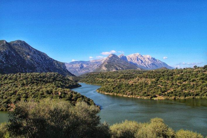 Montagnes en Sardaigne