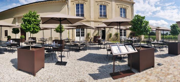 Terrasse - Au Marquis de Terme