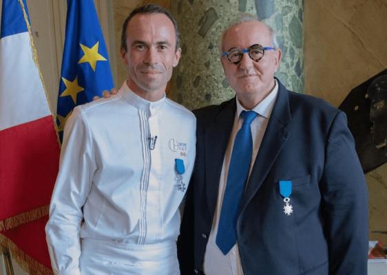 Christophe Hay (Les Collectionneurs) et Maurice Leroy à Blois
